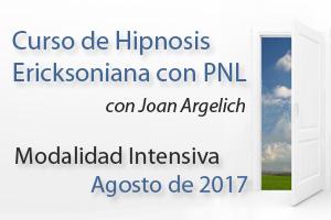 Curso de Hipnosis Ericksoniana con PNL Barcelona