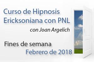 Curso de Hipnosis Ericskoniana en Barcelona Fines de Semana