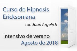 Curso de Hipnosis Ericksoniana en Barcelona Intensivo Agosto de 2018