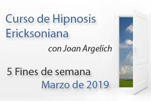 Curso de Hipnosis Ericksoniana en Barcelona 2019